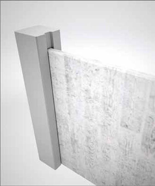 Unión a paneles mediante galceado