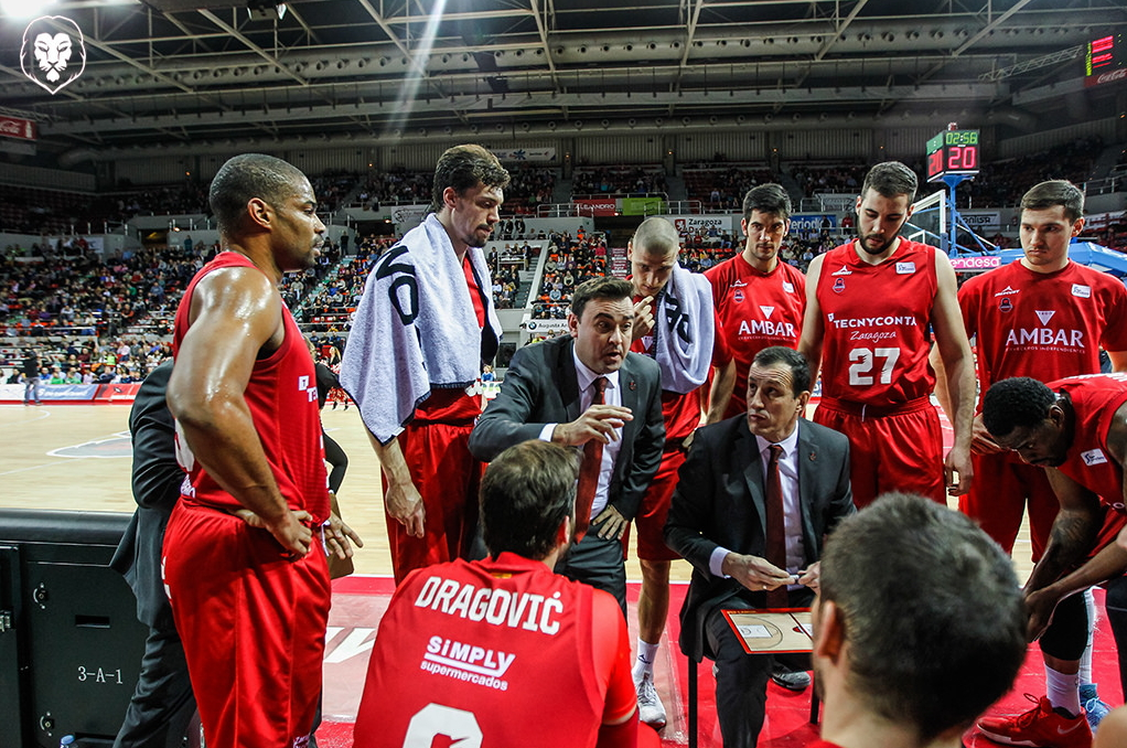 Segunda temporada del Tecnyconta como patrocinador del Basket Zaragoza