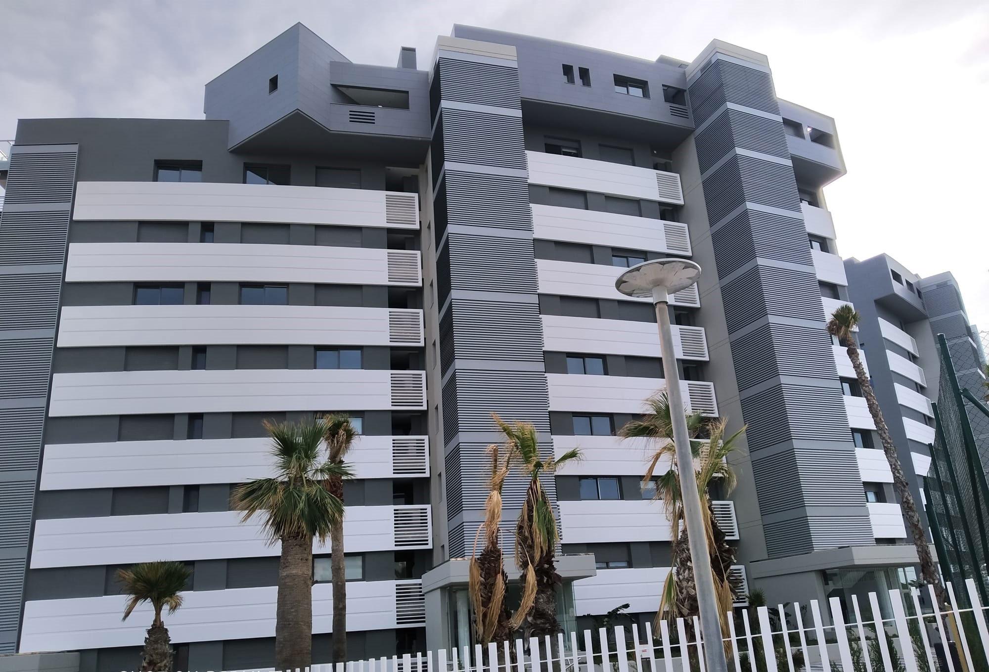 Obra GRC en Alicante